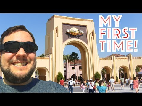I went to Universal Studios Florida for the FIRST TIME!! (2018)