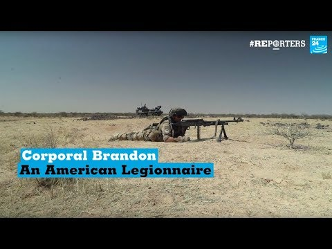#Reporters: Corporal Brandon, the American serving in the French Army