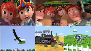 Are We there Yet Best  Kids Nursery Rhymes and  Songs  half hour