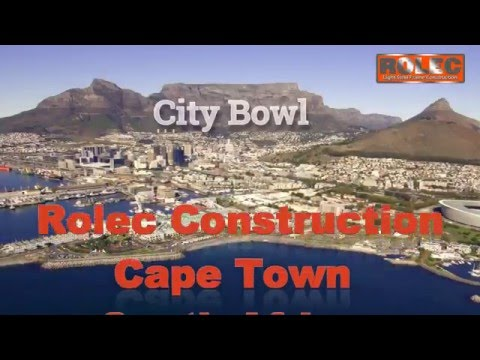 Builders Cape Town | Light Steel Metal Frame Building | Rolec Construction South Africa 2016