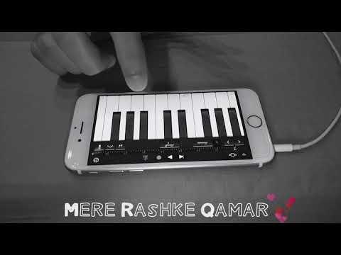 Mere Rashke Qamar | Nusrat Fateh Ali Khan Ji | Mobile Piano Cover By Ravneet Singh