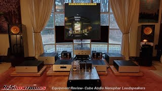 "Cube Audio Nenuphar, 10"" single driver loudspeaker, AVShowrooms Feature Review and Listening Session"