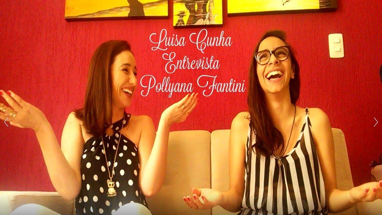 Luisa Cunha Especial de Natal - Entrevista Pollyana Fantini