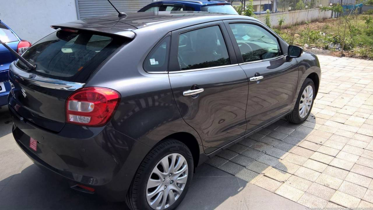 2016 Suzuki Baleno Granite Grey Youtube