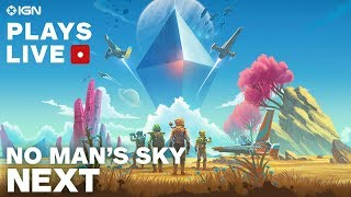 No Man's Sky NEXT - Exploring on Xbox One X - IGN Plays Live