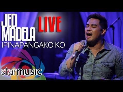 Jed Madela - Ipinapangako Ko (LIVE)