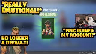 tfue finally bought a *SKIN* in fortnite...*emotional* 😭 | FortniteNonStop - Tfue