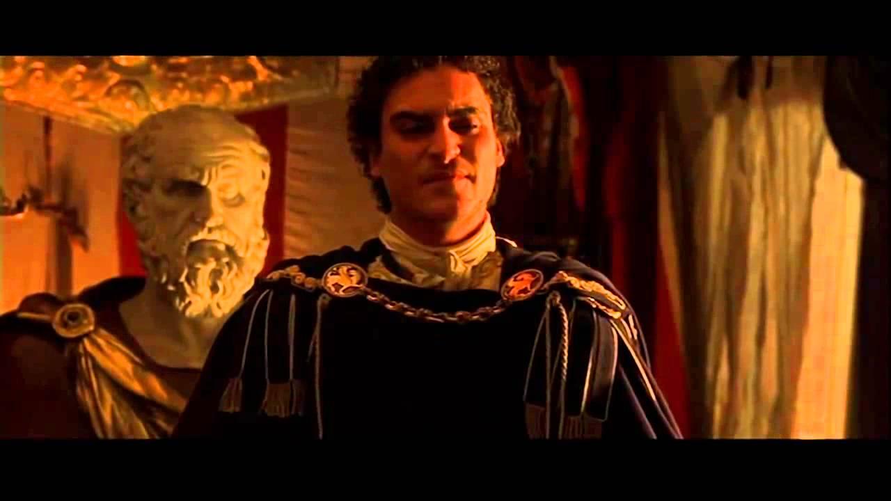 16 Gladiator Commodus Murders Marcus Aurelius Full Scene