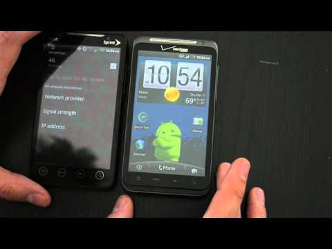 HTC ThunderBolt Hands On and Speed Test