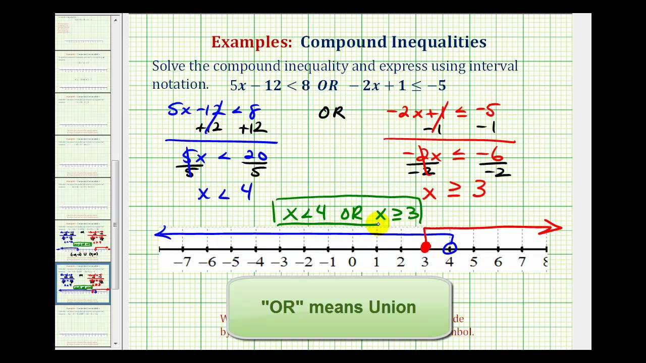 Ex Solve A Pound Inequality All Real Numbers Solution