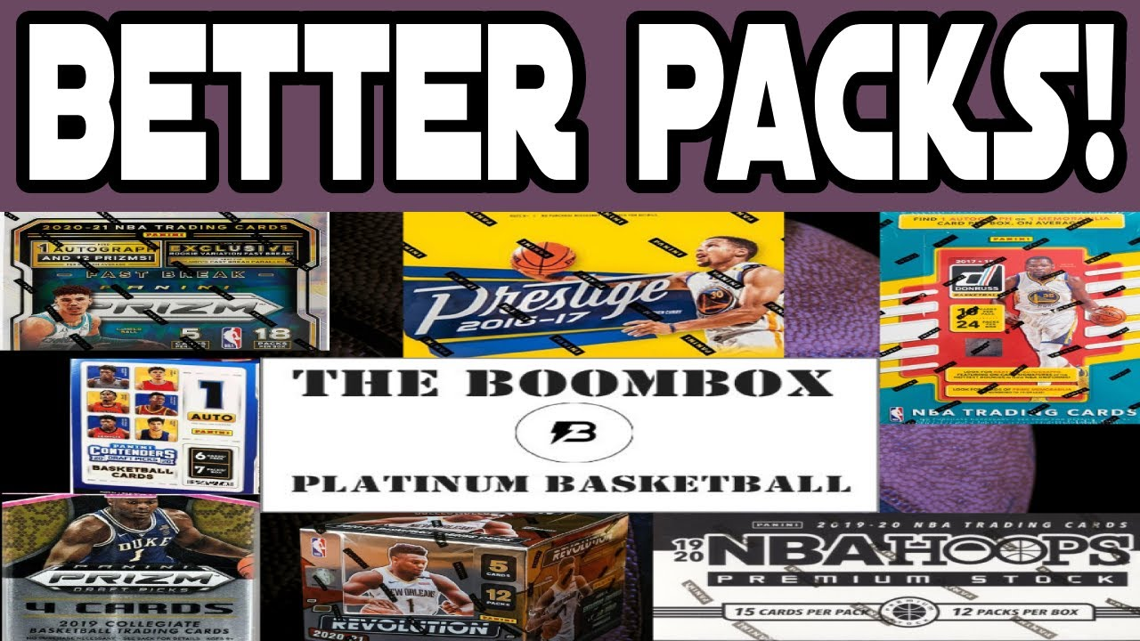 Do you THINK The Packs Are BETTER? BOOMBOX Platinum Basketball June 2021 Subscription Box! JA! 🔥🔥