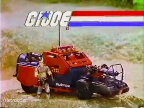 1986 G.I. Joe - Cobra Swampfire & Dreadnoks Thunder Machine Toy Commercial