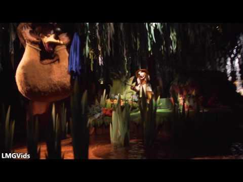 [4K] 2017 Splash Mountain ride (Low Light) -Disneyland: 50 Foot Drop Log Flume Attraction!