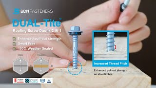 BDN Fasteners │ Dual-Tite │Pull out test on timber/steel