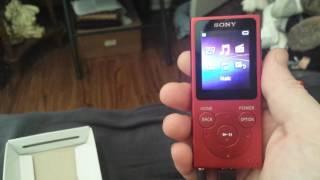 Sony Walkman E Series NW-E395 edition