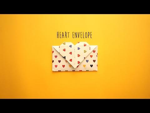 DIY: Heart Envelope