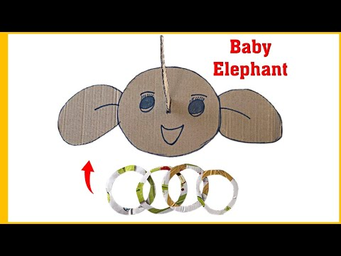 Play game with funny Baby Elephant