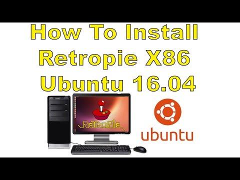 How To Install Retropie X86 In Ubuntu 16 04 Retropie On Pc! - YouTube