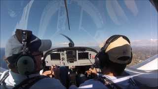 My first flying lesson on a light sport cruiser over San Diego CA coast 1