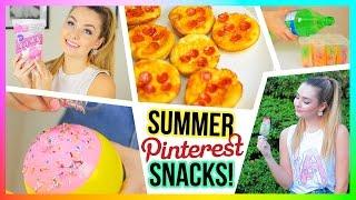 DIY Summer Treats and Snacks - Cheap and Fun!