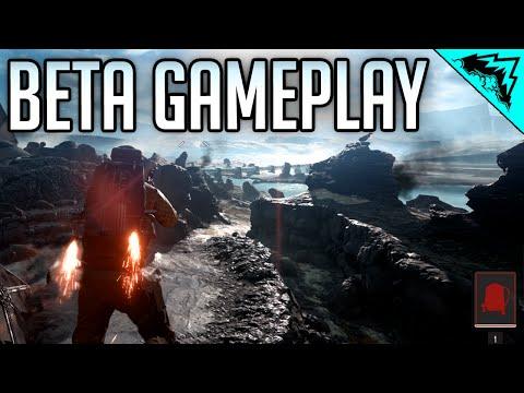 Battlefront 3 Gameplay Sniping (Cycler Rifle)/ LMG (DLT Rifle) Gameplay - Battlefront Beta Gameplay