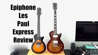 Epiphone Les Paul Express Review Cheap Chinese Travel Mini Electric Guitar Tone Monster for 130 USD