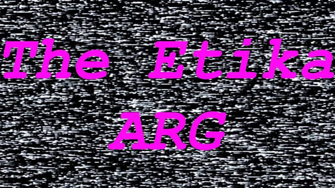 THE ETIKA ARG (Alternate Reality Game) - YouTube