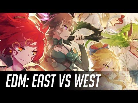 ►Best of EDM West vs East Mix Oct 2016 ◄ ~( ̄▽ ̄)~