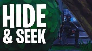 HIDE & SEEK #7 MINI-GAME!  - Fortnite: Battle Royale Playground (Nederlands)