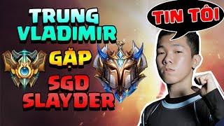Vô tình gặp SGD Slayder ở rank THÁCH ĐẤU - AD Carry tiềm năng VCS 2019