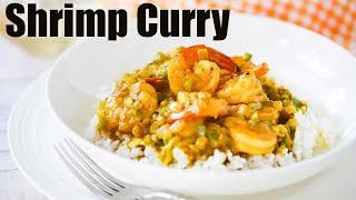 Authentic Jamaican Shrimp Curry