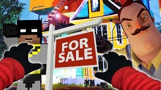 Realistic Minecraft Hello Neighbor House FOR SALE!!!!