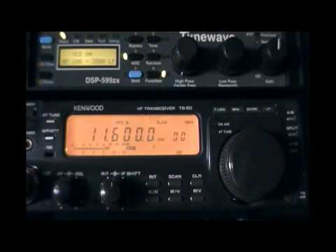 Radio Libya (Sabrata, Libya) - 11600 kHz + Timewave DSP-599zx