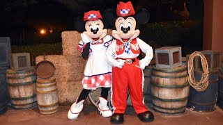 """Gambar cover Final Mickey's Backyard BBQ """"Happy Trails"""" with Mickey, Minnie, Chip & Dale, Goofy - Fort Wilderness"""