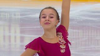 Валерия Овчинникова Короткая программа Девушки Сочи Кубок России по фигурному катанию 2020 21