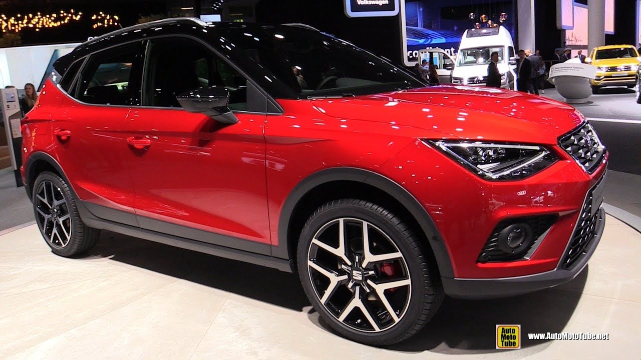 2018 seat arona fr exterior and interior walkaround 2017 frankfurt auto show youtube. Black Bedroom Furniture Sets. Home Design Ideas