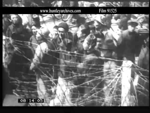 China, foreign intervention in Shanghai..  Archive film 91525