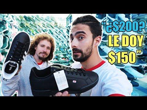 El mercado de sneakers fake más grande de America! Perú