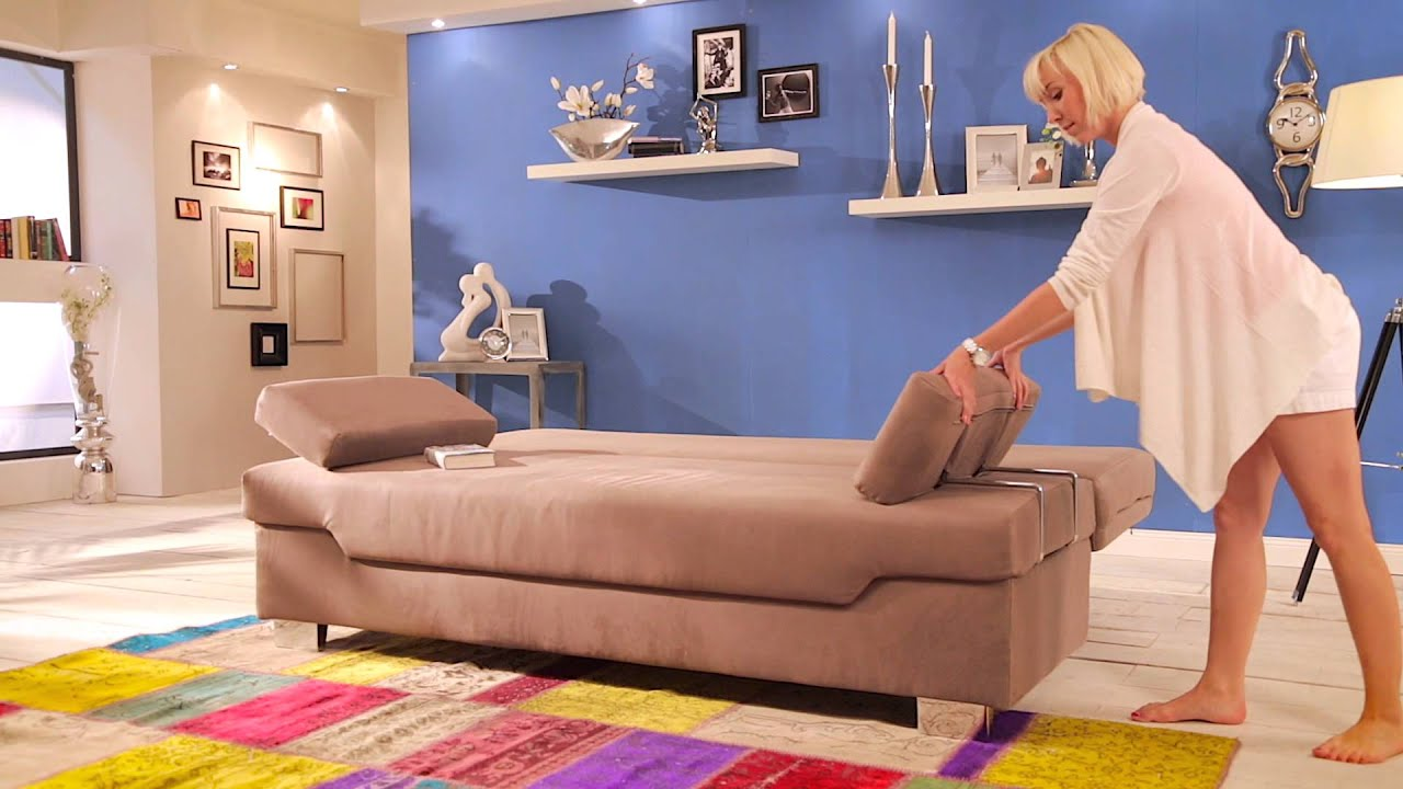 Schlafcouch design  Schlafsofa Verholt - Modell Oslo - YouTube