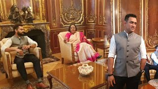 World Cup 2019 : Team India visits High Commissioner's Residence in London | Oneindia News