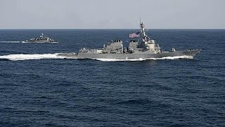 China-US: reef row gets real