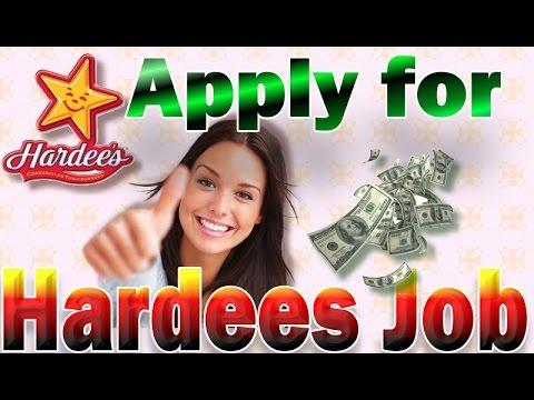Apply For Hardees Job Online Youtube