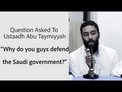 """Saudi Goverment Will Kick You Out of #Madinah Uni if You Speak Out Publicly Against Them"" Ust Abu T"