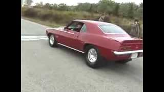 69 Camaro,64 Merc,80 Malibu Burnouts