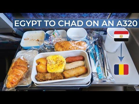 TRIPREPORT | Egypt Air (ECONOMY) | Cairo - N'Djamena | Airbus A320