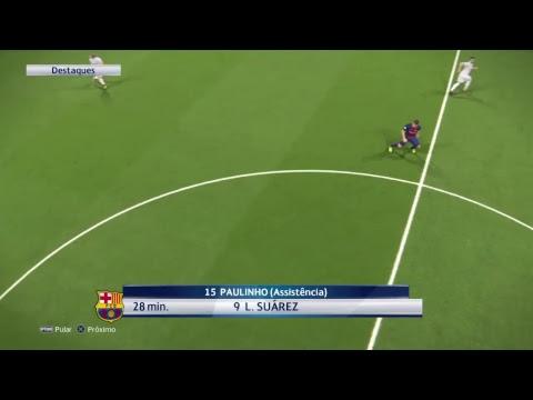 PES 2018 Barcelona x Real Madrid
