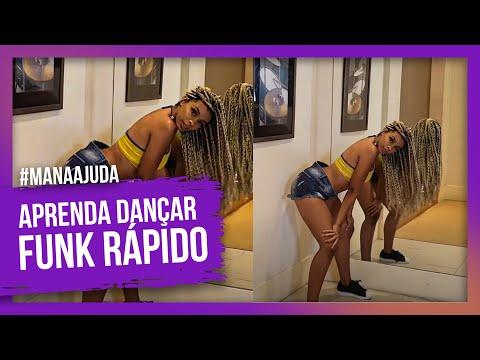 APRENDA A DANÇAR FUNK RAPIDO!!!DICAS E TRUQUES - Iniciante #MANAAJUDA / RAMANA BORBA