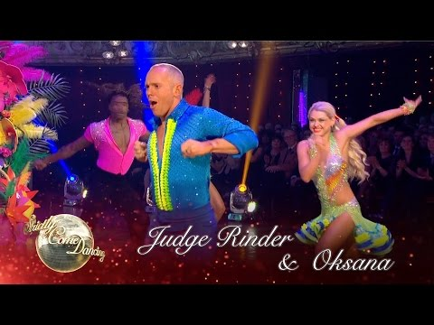 Judge Rinder & Oksana Platero Salsa to 'Spice Up Your Life' by Spice Girls -Strictly 2016: Blackpool