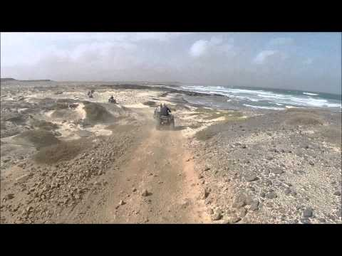 Cape Verde Quad Tour 2015 New  Vision!