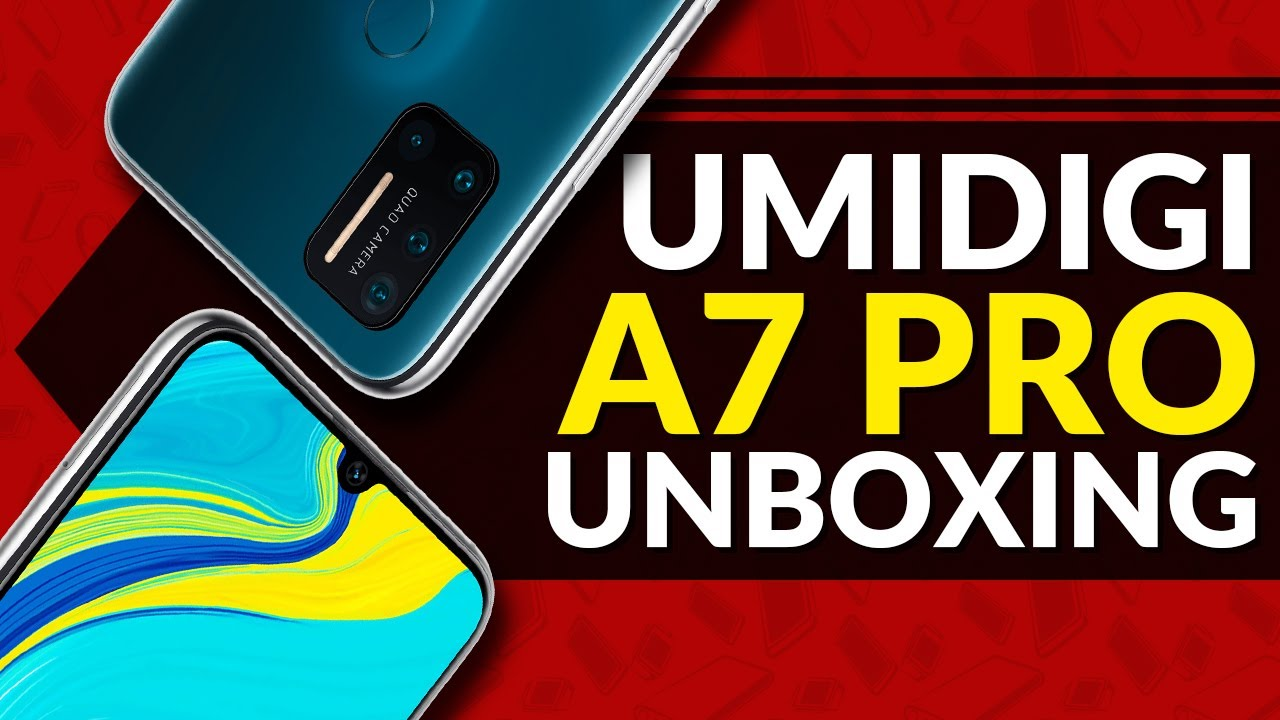 Umidigi A7 Pro Unboxing and First Impressions!